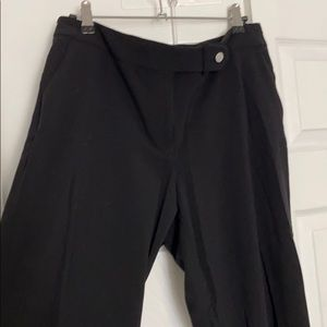 Calvin Klein Classic Fit Black Work Pants